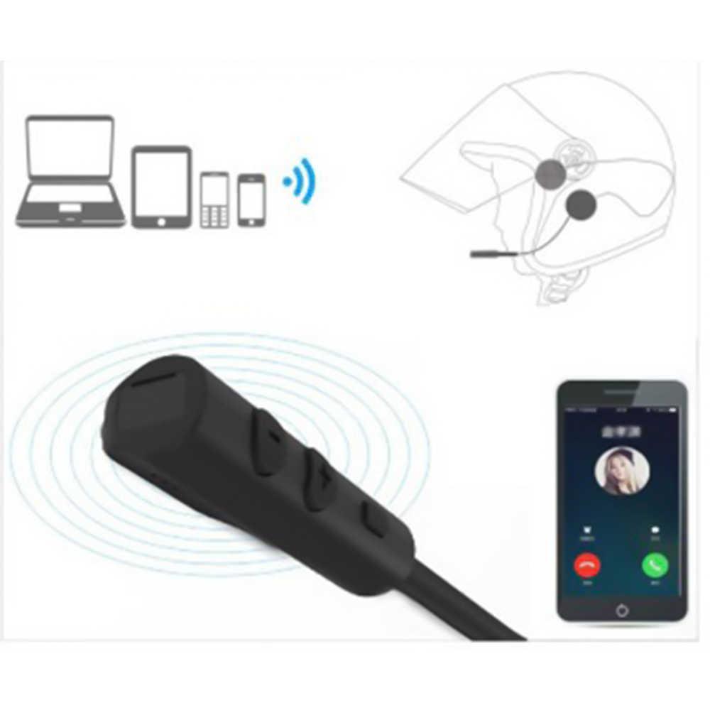 Double visière casque de moto casque Bluetooth 5.0 EDR casque Microphone vélo casque écouteur mains libres haut-parleur appel