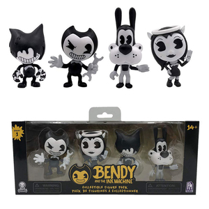 1 Set Game Figure Bendy Ink Machine Doll Action Figures Kids Collections Bendy PVC Toys Set