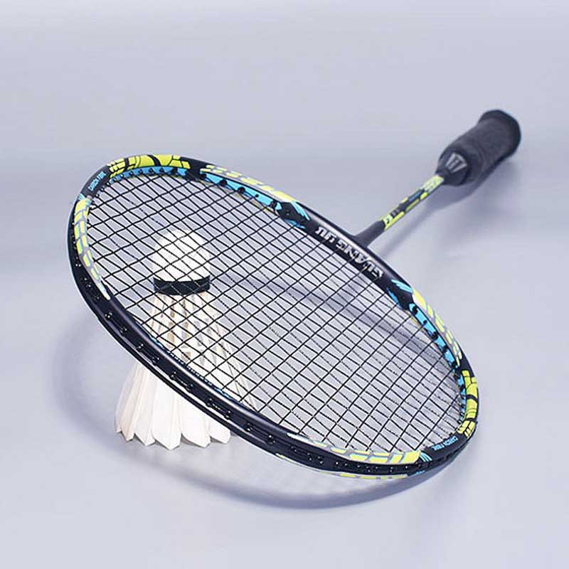 Offensive 4U Badminton Racket Full Carbon G5 Ultralight High Quality Badminton Racket 28 LBS Racquet Sports Training With Bag