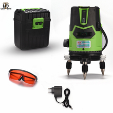 WeiLian New 2/5 Line 6 Points Red/Green Laser Level Self Leveling 360 Vertical&Horizontal Tilt Degrees Rotary Powerful HD laser high accuracy new self leveling rotary rotating laser level 500m range