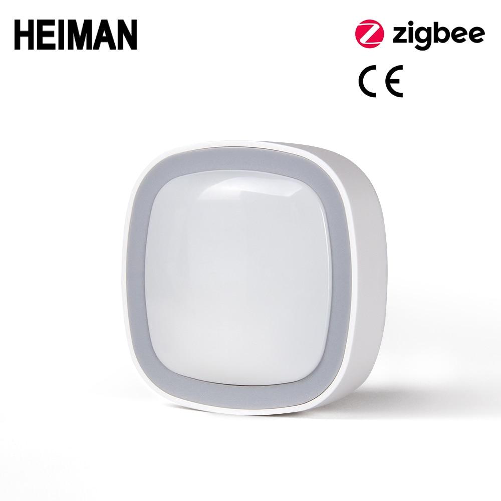 HEIMAN Zigbee Motion Sensor Smart Movement PIR Human Body Detector With Smart Home / House Alarm
