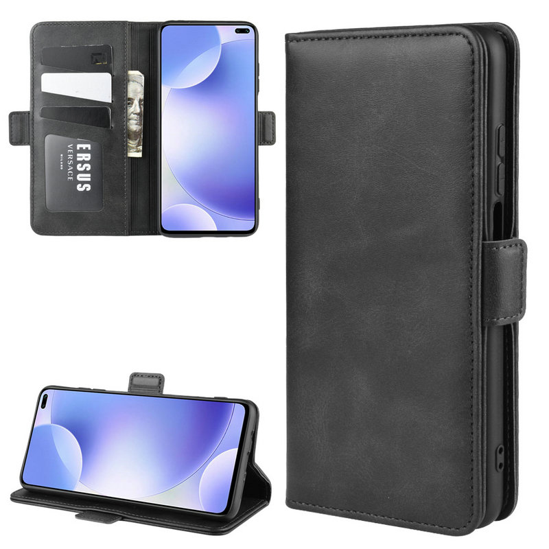 Wallet Case for <font><b>Xiaomi</b></font> <font><b>Redmi</b></font> <font><b>K30</b></font> 5G 6GB 64GB 8GB 128GB <font><b>256GB</b></font> Double Flip Leather Cover Phone Case Capa Etui Fundas> image