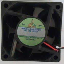 SJ6025HD2 sanju DC24V 6025 Cooling Fan 6months Warranty