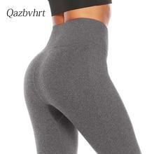 Women's new high waist and hip lifting fitness pants women's slim sexy Leggings sports pants