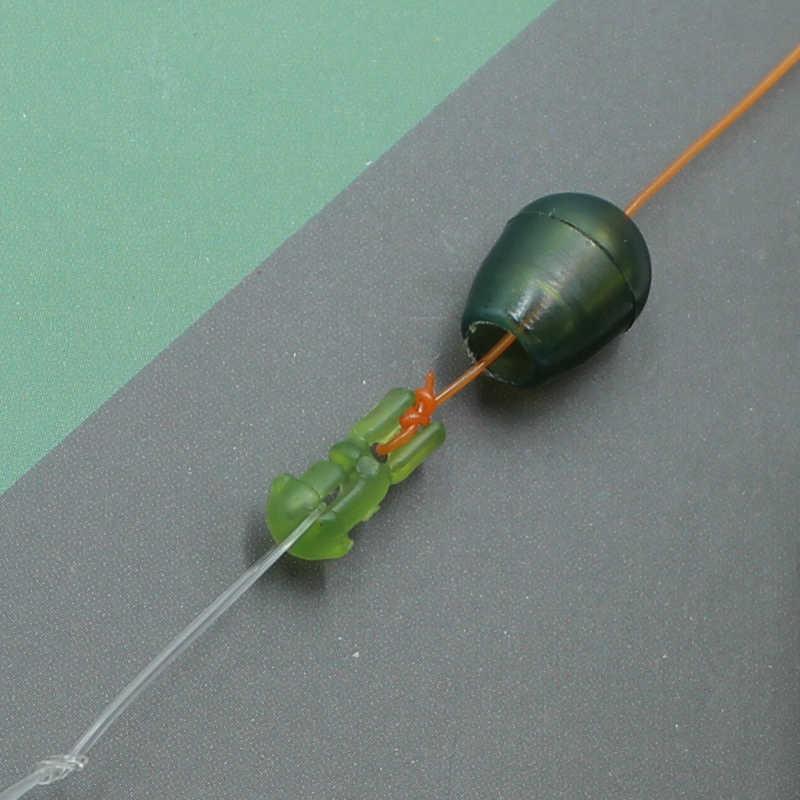 20PCS เปลี่ยนลูกปัด Carp Match Fishing Tackle Hook Links วิธี Feeders ปลาคาร์พอุปกรณ์ตกปลา Tackle
