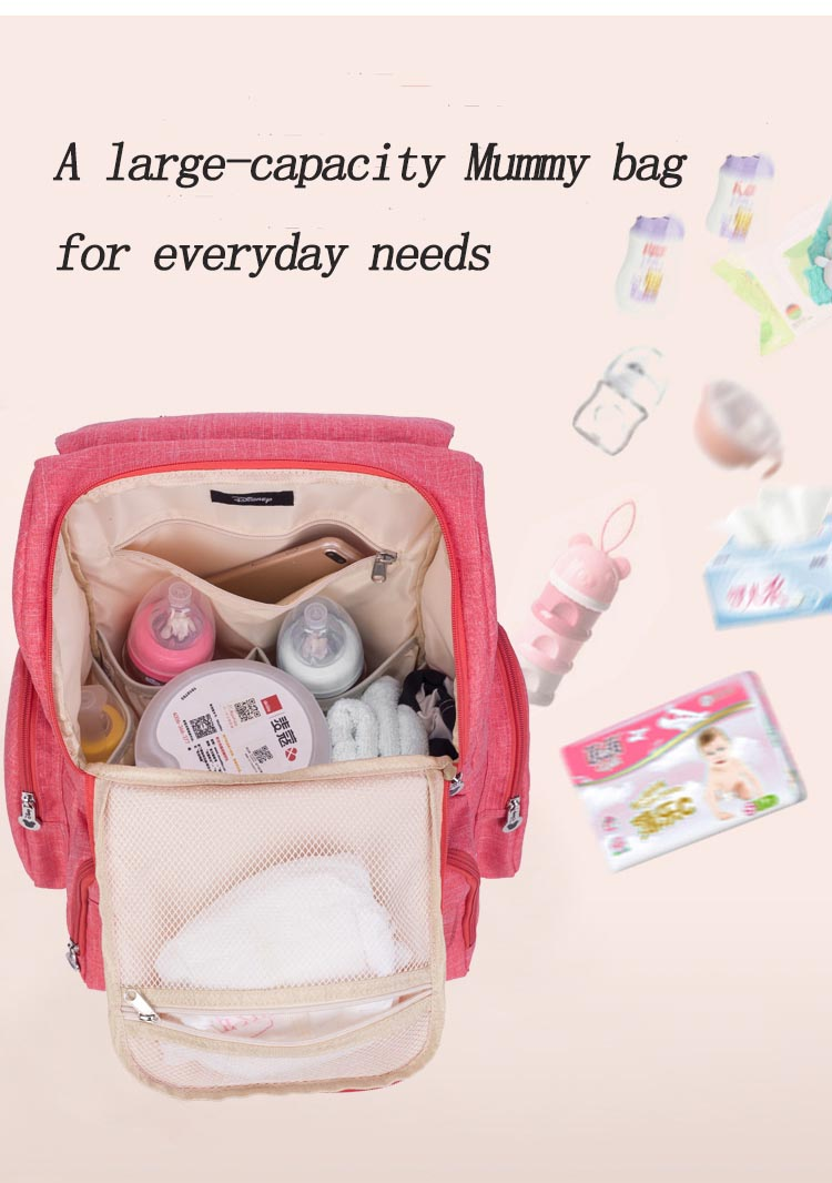 Hc0269fd3a90142648c210fe3535d24f6L Baby Diaper Bag Backpack Large Capacity Nappy Waterproof Maternity Baby Bag For Mum Mummy Maternity Nappy Backpack For Stroller