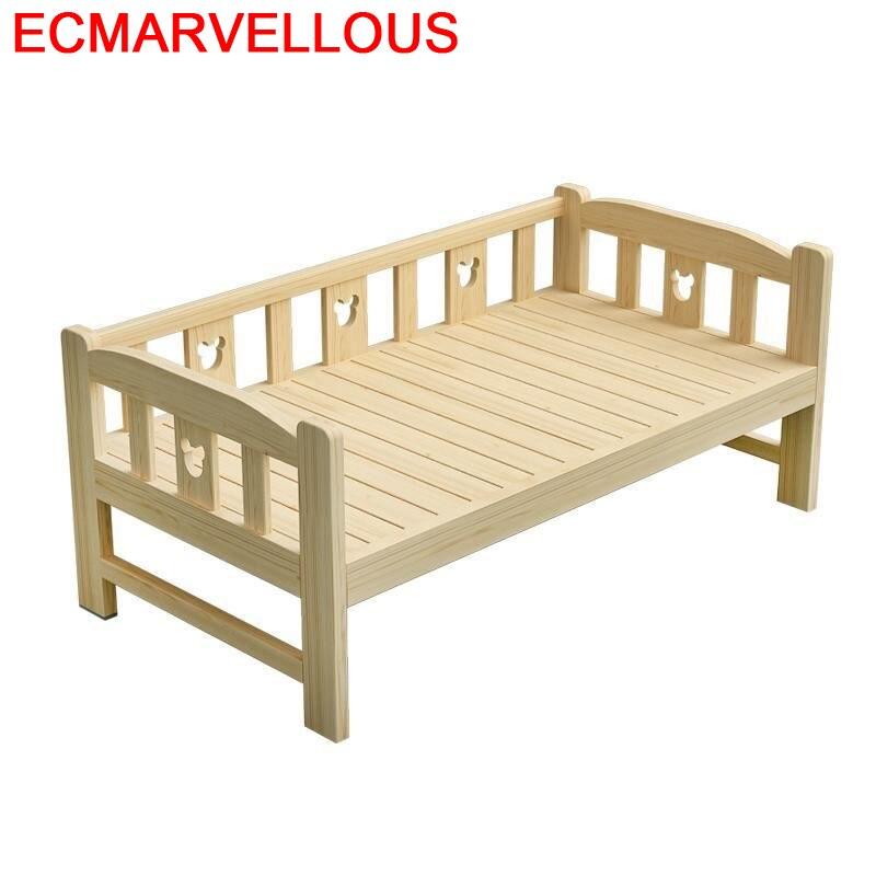 Toddler De Dormitorio Yatak Odasi Mobilya Litera Crib Baby Cama Infantil Lit Enfant Bedroom Furniture Wodden Muebles Kids Bed