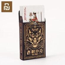 Nuovo Xiaom Carte Da Gioco Gioco di Poker Poker Set di Plastica Magia Della Carta Impermeabile Carte Da gioco di Magia Giochi Da Tavolo 57*87 millimetri carte