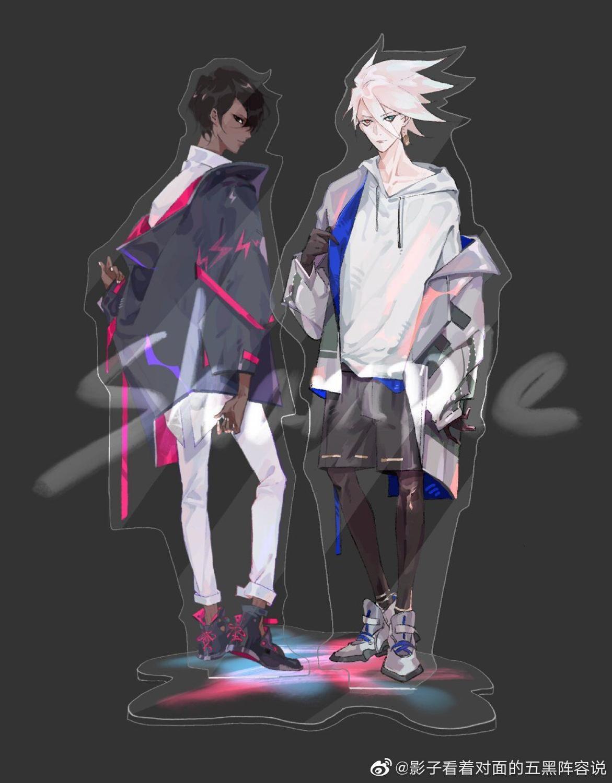 2020 Game FGO Fate/Grand Order Karna Arjuna Fashion Acrylic Stand Figure Decoration Cosplay Desk Decor Gift 15cm