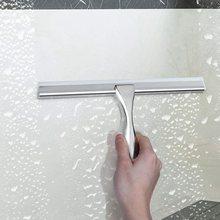 Душевой скребк стеклоочиститель из нержавеющей стали с самоклеющимся