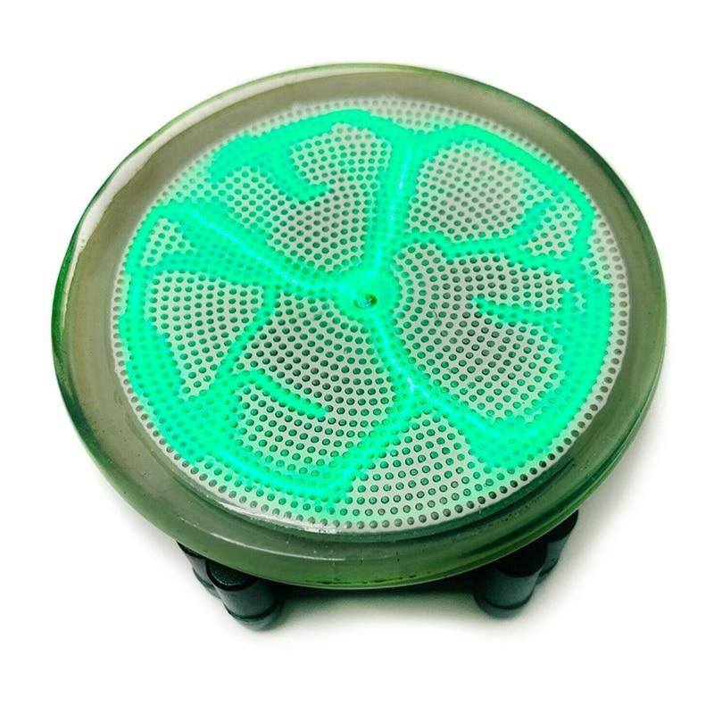 Plasmas Disk Sound Control LED Lighting Mini Plasma Disk Sensor Lighting Plate Party Home Decor  J99Store
