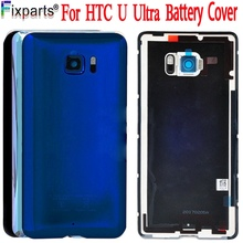 Original 5.7For HTC U Ultra Back Cover Door Rear Glass Housing Case For HTC U Ultra Battery Cover With Camera Lens Free Shopping цена и фото