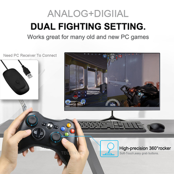 Gamepad For Xbox 360 Wireless/Wired Controller For XBOX 360 Controle Wireless Joystick For XBOX360 Game Controller Joypad 3