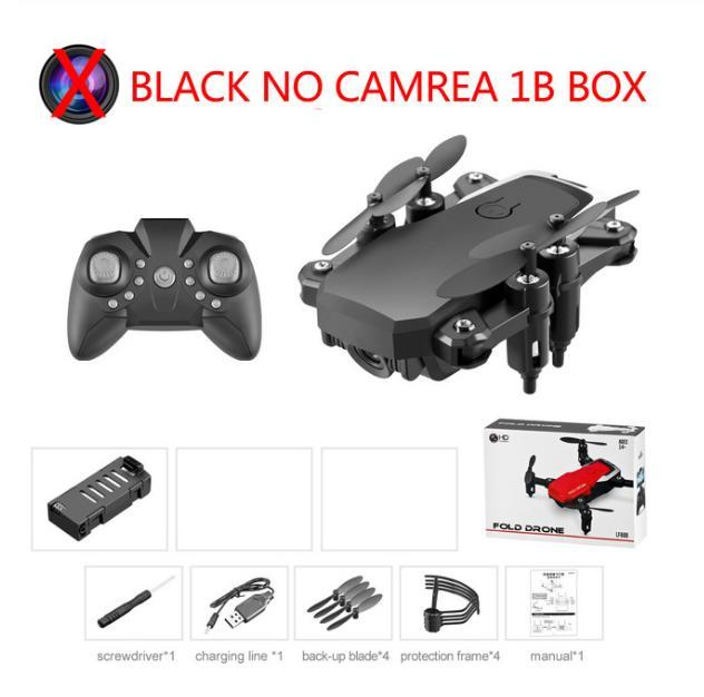 Mini Drone LF606 4K HD Camera Foldable Drone One Click Return FPV Drone Follow Me RC Helicopter Quadrotor Children Toy