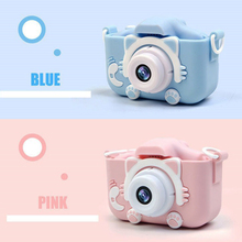 20MP Mini Children Camera X5S 2.0 IPS Screen HD 1080P Kids Digital Photo Camera Toy with 600mAh Lithium Battery Birthday Gift