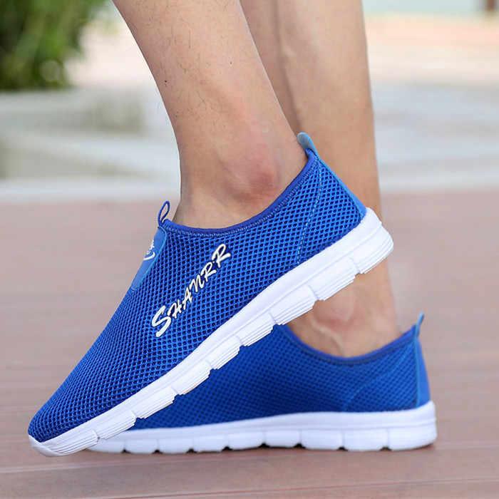 Damyuan 2020 ชายรองเท้าสบายๆแฟชั่นผู้ชาย Comfortables Casual Plug ขนาด 48 46 กีฬาชายรองเท้าผู้ชายรองเท้าผ้าใบรองเท้าผู้หญิง
