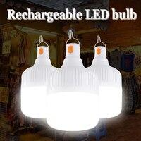 Outdoor USB Aufladbare Mobile LED Lampe Lampen Notfall Licht Tragbare Haken Up Camping Led-leuchten Wohnkultur Nacht Licht Heißer Verkauf