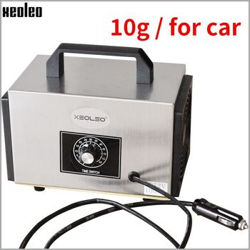 XEOLEO 10g/h Ozone generator Portable Ozone machine for Car/house 12V Air purifier Air sterilization Disinfection machine