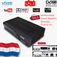 Vmade Newest DVB T2 K6 scart/AV Digital Terrestrial TV Receiver Tuner Support H.265 HEVC HD 1080p Dolby AC3 DVB T2 Set Top Box