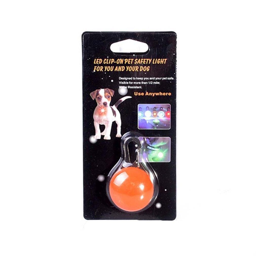 Dog Cat Pet Collar LED Light,Clip-On Pet Dog Lights For Collars,Waterproof Shockproof Safety Night Walking Lights