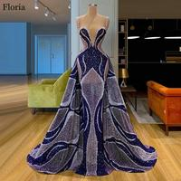 2020 Newest Long Special Celebrity Dress Mermaid Caftan Couture Evening Dress вечернее платье Muslim Prom Gowns Party vestidos