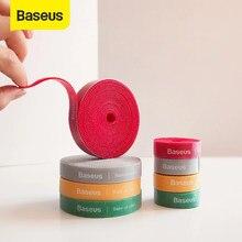 Baseus – organiseur de câbles USB, en Nylon, pour iPhone, iPad, Samsung, souris