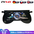 12.3 LCD Android 9 Car Instrument Dashboard Display Head Unit GPS Navigation For Toyota RAV4 2020 Multimedia
