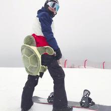 Задняя кость протектор бедра Анти-осень противоударный Черепаха Форма копчик защитная подушка для наружных зимних лыжных принадлежностей