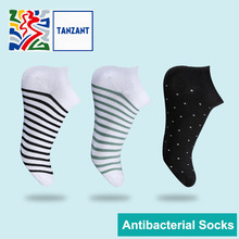 Tanzant Copper Antibacterial Athletic Ankle Crew Running Socks Moisture Wicking No Blisters seamless toe ankle socks цены