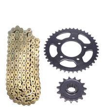 Motorcycle Front Rear Sprocket geartransmission 525 chain 15T/42T Sprockets Gear for Honda CB400 VTEC400 1 2 3 CB VTEC 400