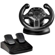 Steering-Wheel Game Wheels-Drive Joysticks Vibration Remote-Controller PS3 Racing
