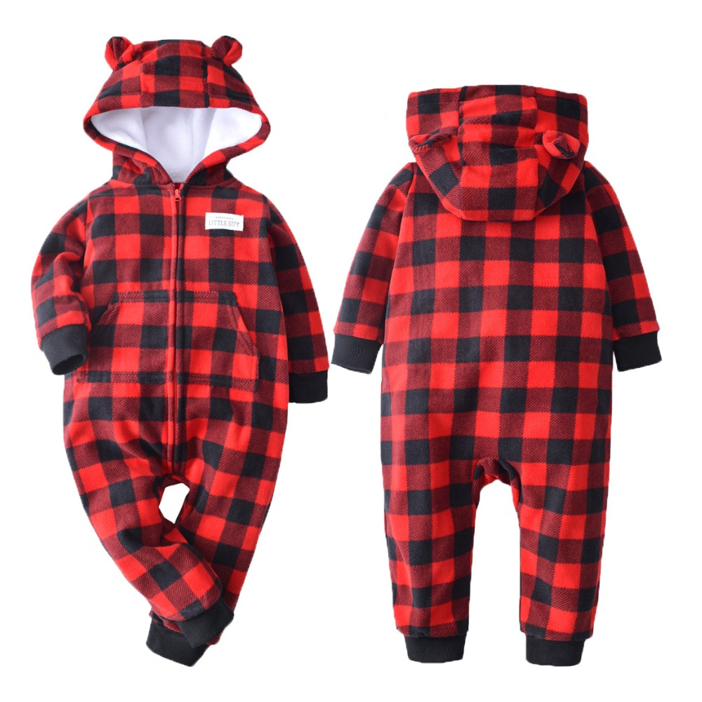 Hc02969415a7545e48b77e0b639fbbb98P 2019 Fall Winter Warm Infant Baby Rompers Coral Fleece Animal Overall Baby Boy Gril Halloween Xmas Costume Clothes Baby jumpsuit