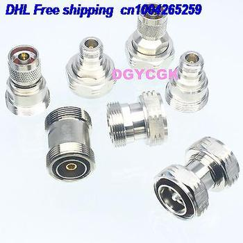 DHL 10sets 7pcs/set Adapter 7/16 DIN to DIN Type N female F male M Kit for Communication adapter 22cs