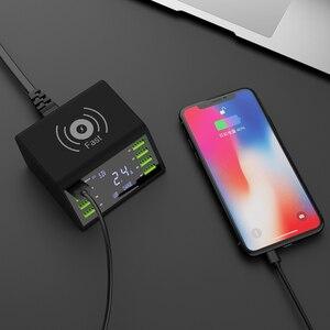 Image 4 - Nhanh Charge3.0 Sạc Không Dây 8 Cổng USB Sạc Nhanh Cho Iphone XR Max Samsung S9 S8 Huawei P20 P 30 xiaomi Mi Note 10 Pro