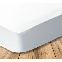 Cotton, waterproof and breathable fitted fitted sheet