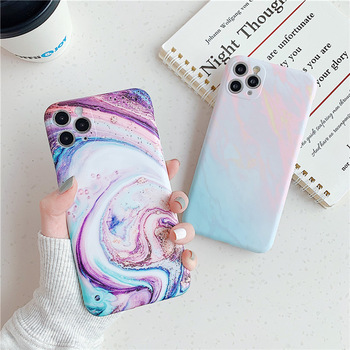 Marble Texture Stone Phone Case For iPhone