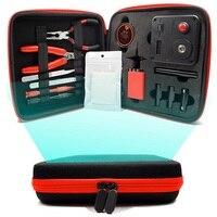 V3 kit all em um coilmaster v3 + cigarro eletrônico rda atomizador bobina ferramenta saco acessórios vape vap|Bolsas ferramenta| |  -