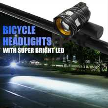 Bicycle Front Light 15000lm Bike T6 LED Zoomable Bicycle Headlight USB rechargeable bike lamp Safety Flash Light usb rechargeable 15000lm xml t6 led bike front light bicycle headlamp headlight
