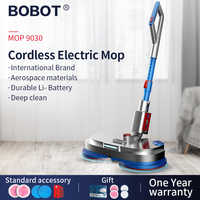 BOBOT MOP 9030 Cordless Electric Floor Mop Sweeping And Waxing, Electric Spray Water Mop Sweeper