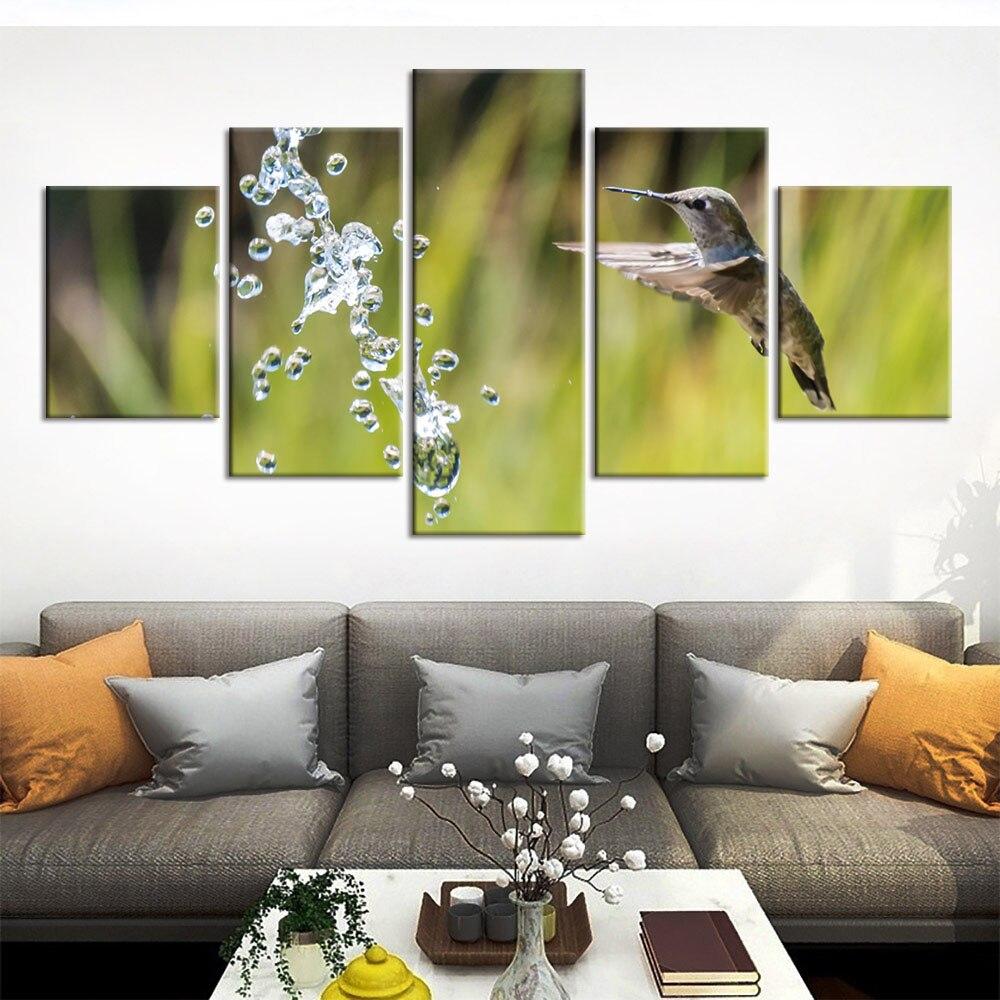 Mur Art Animal colibri toile peinture 20 pièces imprimer affiche photos  chambre décoration de la maison