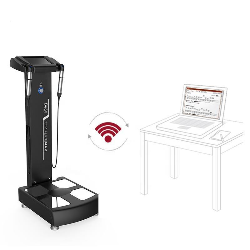 Mass Storage Touch Screen Human Body Composition Equipment Obesity Assessment Full Body Health Analyzing Device With CE
