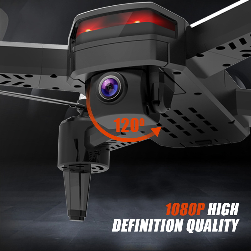 New Products Yucheng 69-x9 Four-axis High-definition Wifi Aerial Photography Optical Flow Positioning Smart Folding Remote-contr