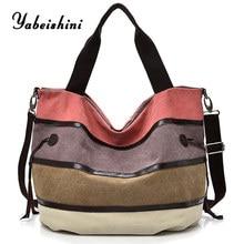 women luxury handbag canvas bag over shoulder women bag Casual Messenger Bags lady travel Tote sac main Shopping Bag bolso mujer стоимость