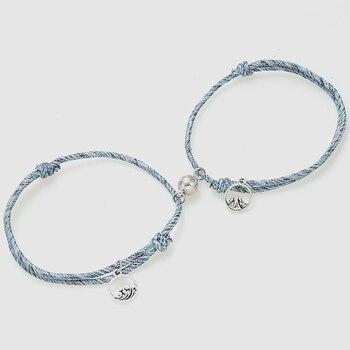 Bracelets Distance Couple
