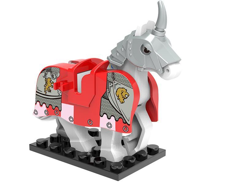 8 pçs set cavalo cavaleiro medieval roma