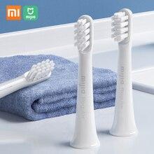 3 قطعة/الوحدة فرشاة الأسنان استبدال رئيس ل Xiaomi Mijia T100 سونيك فرشاة الأسنان الكهربائية للماء الصحية استبدال الأسنان فرشاة