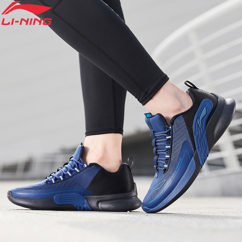 Li-Ning Men C.F.R Cushion Running Shoes Stable Support Light LiNing Fitness Wearable Sport Shoes Sneakers ARHQ033 XYP970