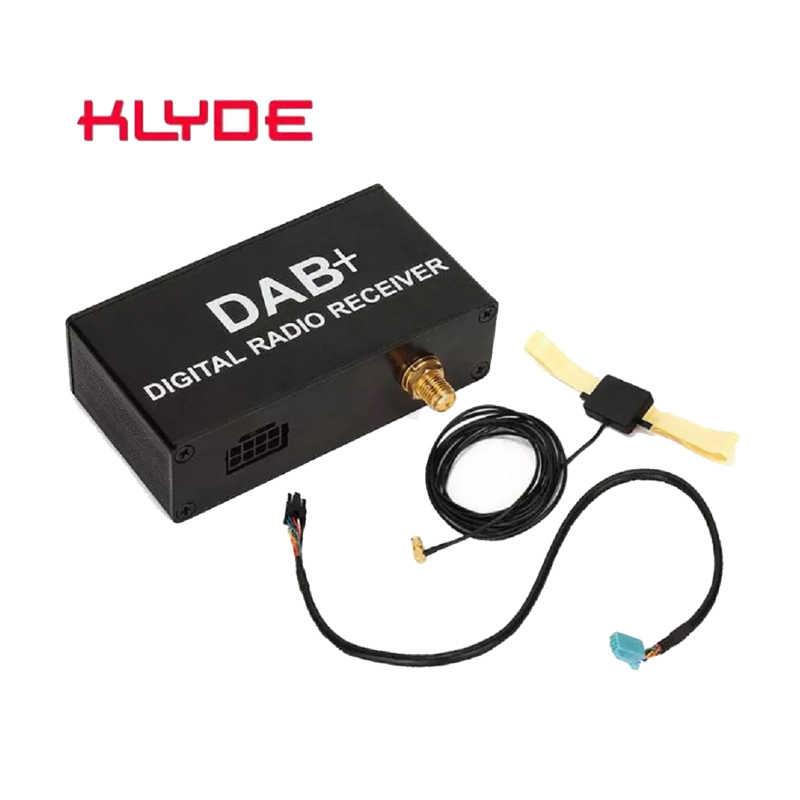 Auto DAB Antenna DAB Sintonizzatore Radio Auto Ricevitore DAB Antenna Per Android DVD DAB + Antenna del Ricevitore