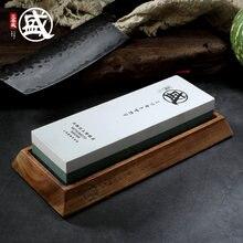 Mitsumoto sakari 1000 3000 8000 10000 grão japonês dupla face pedra de afiação para facas com borracha antiderrapante e base de madeira