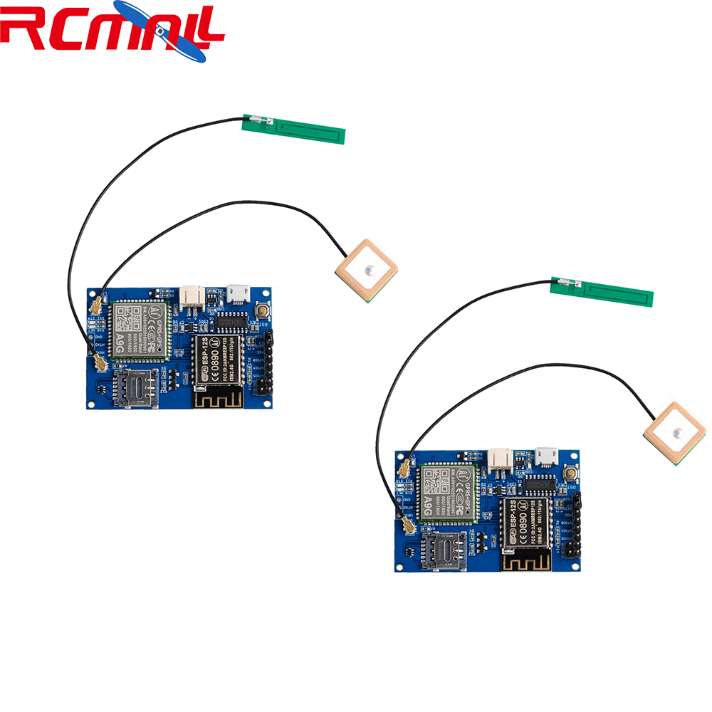 2Pcs/lot ESP8266 ESP-12S A9G GSM GPRS+GPS Module Node V1.0  IOT Development Board WiFi+Cellular+GPS Tracking All In One FZ3926